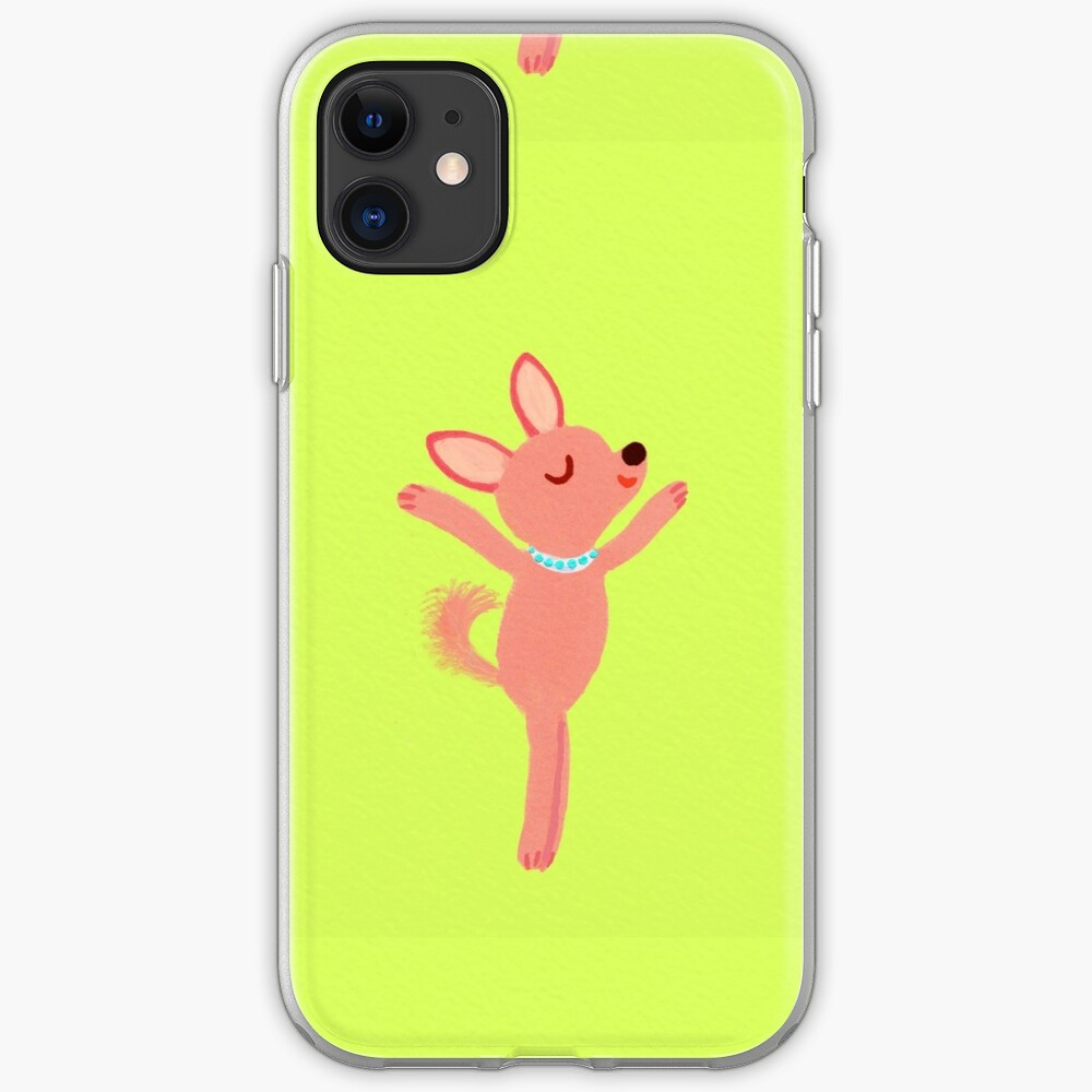 dancing dog iPhone Case & Cover