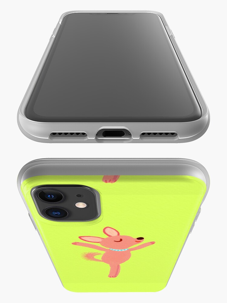 Alternate view of dancing dog iPhone Case & Cover