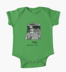 Rosa Parks Deal With It nah One Piece - Short Sleeve