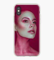 Pink Vinilo y funda para iPhone
