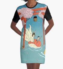 Through the flood Graphic T-Shirt Dress
