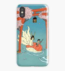 Through the flood iPhone Case/Skin