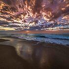 Cronulla Beach Sunrise by Toni McPherson