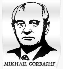 Mikhail Gorbachev  Poster