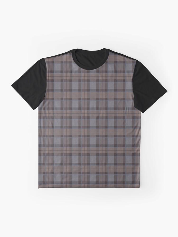 Alternate view of outlander tartan - fraser tartan Graphic T-Shirt