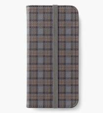 outlander tartan - fraser tartan iPhone Wallet/Case/Skin