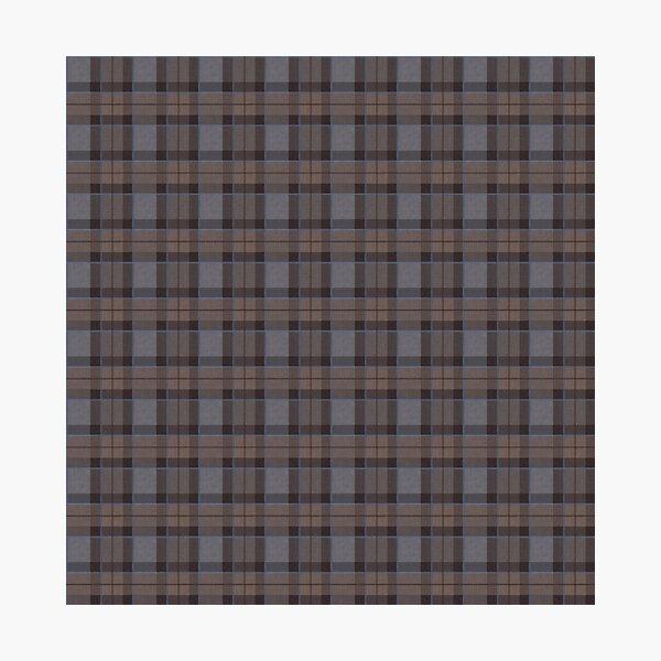 outlander tartan - fraser tartan Photographic Print