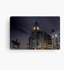 Liver Building and guard Canvas Print