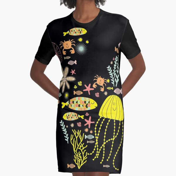 great barrier reef Graphic T-Shirt Dress