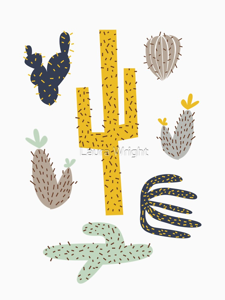 Kaktus - Senf Marine von laurathedrawer
