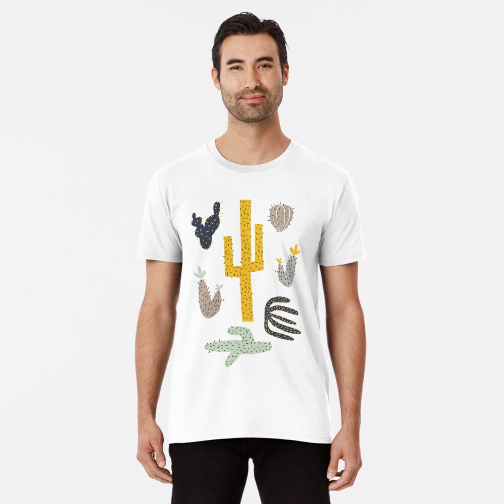 Kaktus - Senf Marine Premium T-Shirt