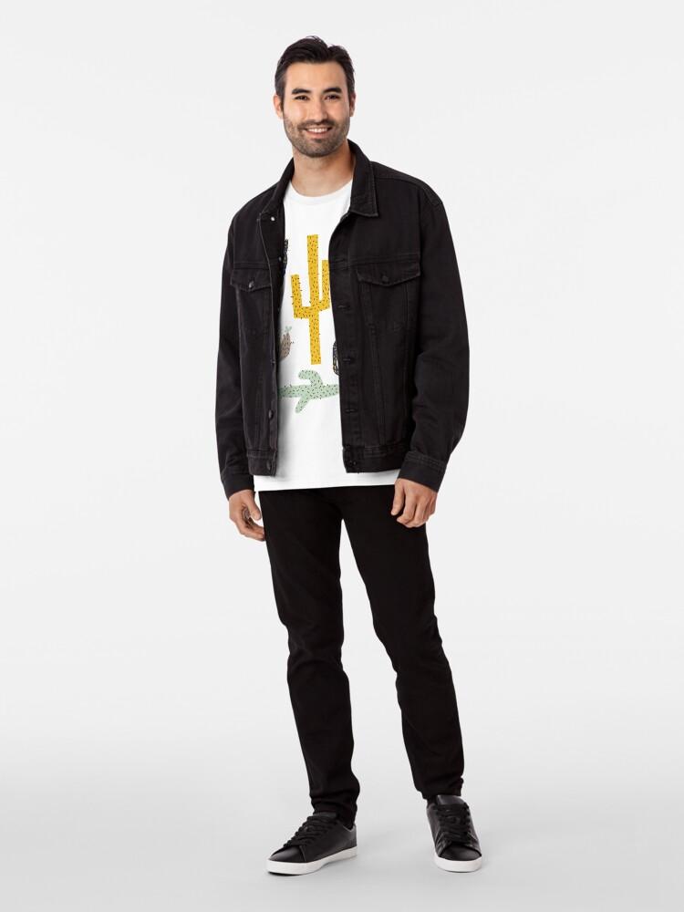 Alternative Ansicht von Kaktus - Senf Marine Premium T-Shirt