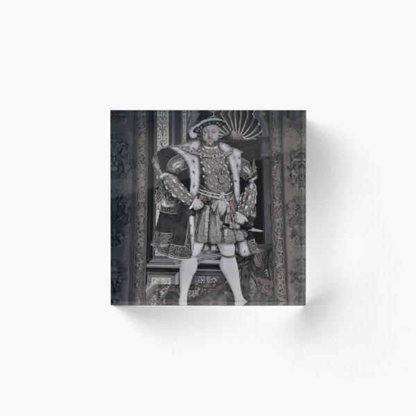 Henry VIII Acrylic Block