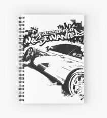 Need for Speed Most Wanted Spiral Notebook