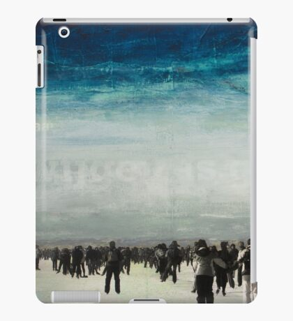 WHAT ARE WE WAITING FOR iPad Case/Skin