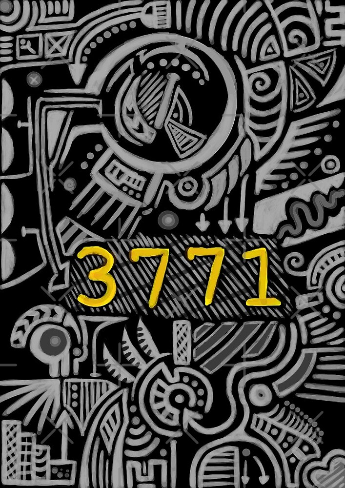 3771 Book Cover by Helena