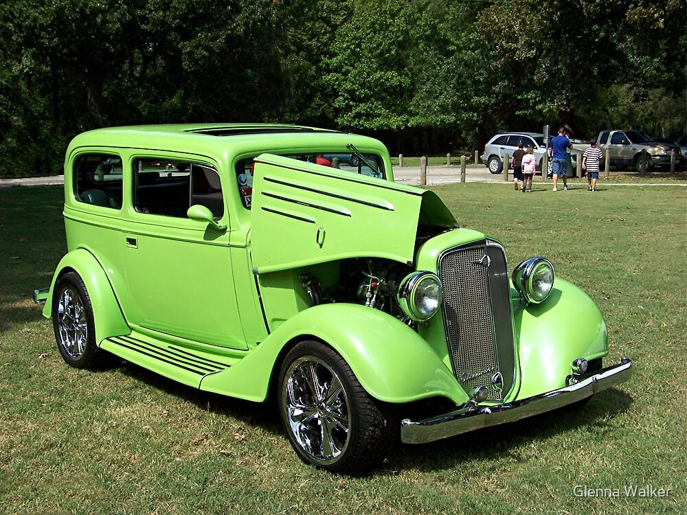 1935 Chevrolet Coupe Street Rod by Glenna Walker