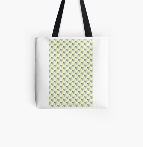 Cubism Number Five by M.A All Over Print Tote Bag