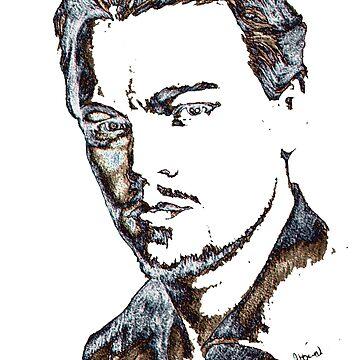 Leonardo Dicaprio by albandizdari