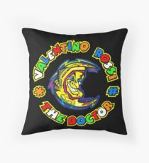 valentino rossi - We design our world, while our world acts back on us and designs us. Throw Pillow