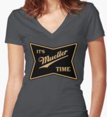 Müller Zeit Shirt mit V-Ausschnitt