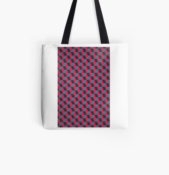 Cubism Number Eight (Paper Effect Edition) by M.A All Over Print Tote Bag