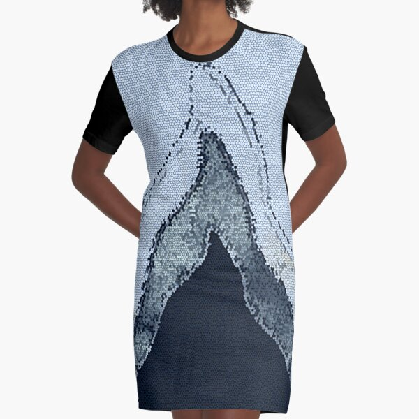 The Blue Mountain Graphic T-Shirt Dress