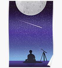 BTS Jimin Serendipity Landschaft Poster