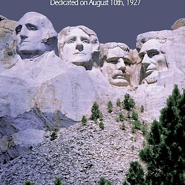 """""""MOUNT RUSHMORE"""" Presidents Sculpture Print by posterbobs"""