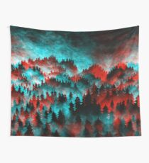 Trippy Forest V6 Wall Tapestry
