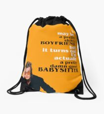 "Steve ""Babysitter"" Harrington Drawstring Bag"