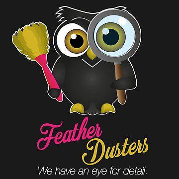 Feather Dusters Logo by StevePaulMyers