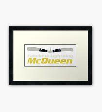 Fabulous Lightning McQueen - Cars 3 Framed Print