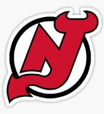 New Jersey Devils Logo Sticker
