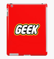 Lego Geek iPad Case/Skin