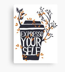 Expresso Canvas Print