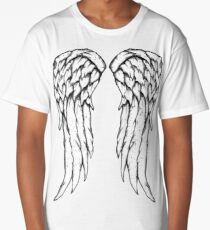 Daryl Dixon Wings - Zombie Long T-Shirt
