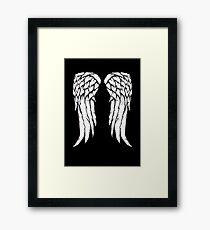 Daryl Dixon Wings - Zombie Framed Print