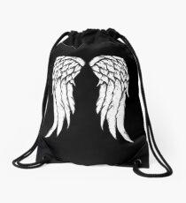 Daryl Dixon Wings - Zombie Drawstring Bag