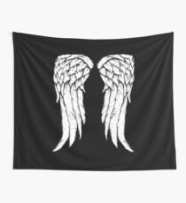 Daryl Dixon Wings - Zombie Wall Tapestry