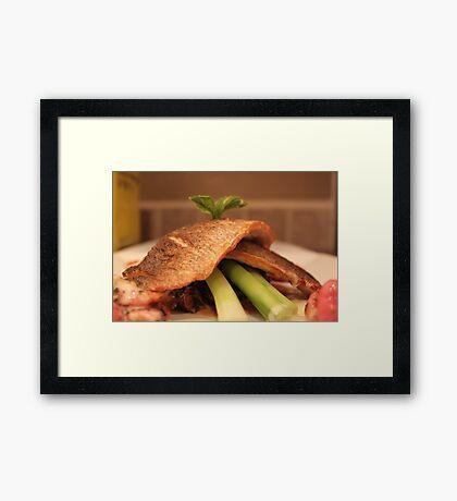 Dinner at Chefleclef's Framed Print