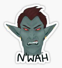 N'wah Sticker