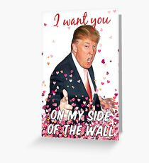Trump Valentines Day Greeting Card