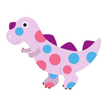 Funny Polka Dot Dinosaur Christmas T-shirt Family Costume by d180
