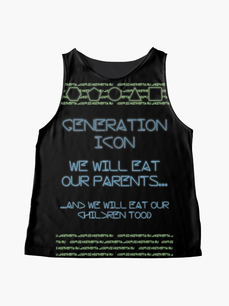 Alternate view of The Icon Generation Sleeveless Top