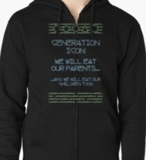 The Icon Generation Zipped Hoodie