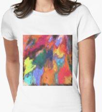 stunning abstract art Women's Fitted T-Shirt