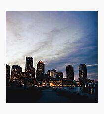 Weihnachten in Boston Fotodruck