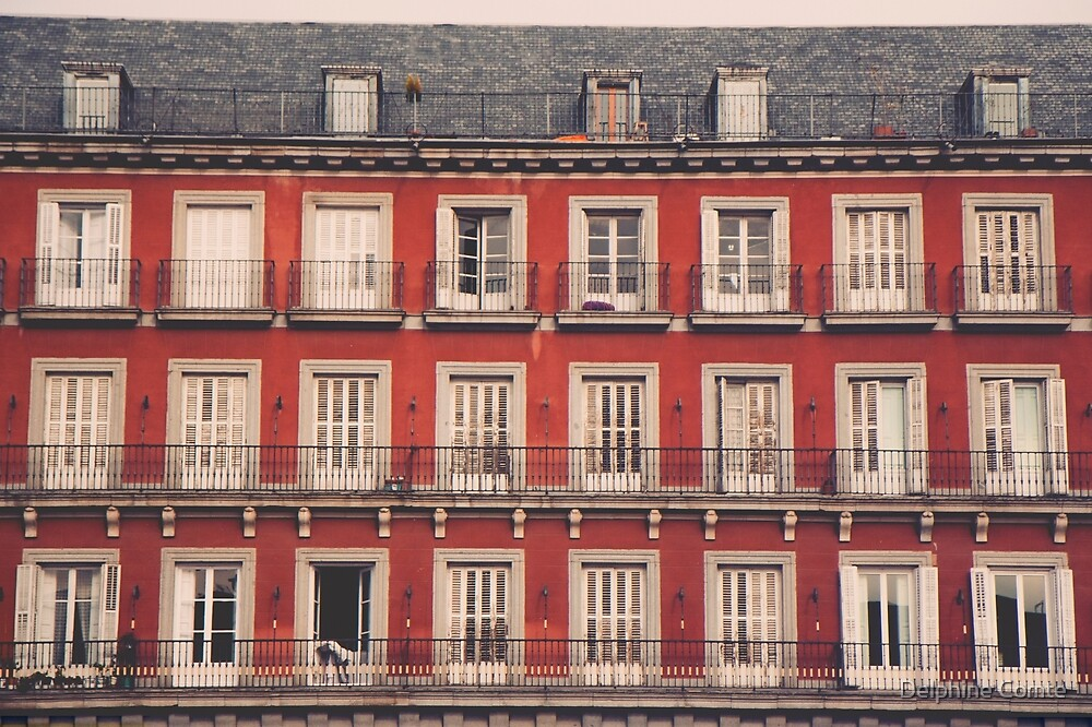 Plaza Mayor by Delphine Comte