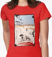 Fear and This is bat country - Loathing in Las Vegas Women's Fitted T-Shirt